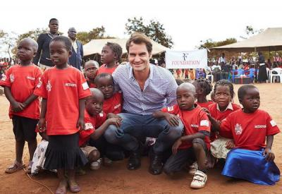 Seventeen-time Grand Slam champion Roger Federer spent some of his summer in Malawi, spending $13.5 million to open 81 schools in the poverty-stricken nation