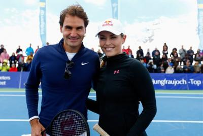 ​It all started with a Skype conversation between the Roger Federer and Olympic skier Lindsey Vonn regarding a tweet Vonn directed at Federer last October about how she would gladly play tennis with Federer if he would take to the slopes with her