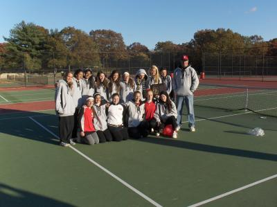 The 2010 Long Island High School Girls Tennis Champs, the Syosset Lady Braves