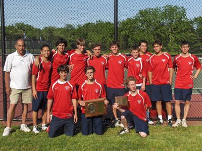Cold Spring Harbor, the 2011 Nassau County High School Boys Tennis Champs