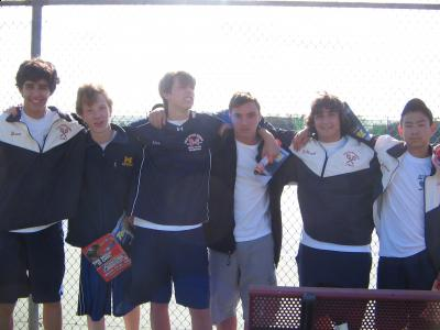 The Cold Spring Harbor High School Boys Tennis Team