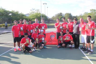 Syosset defeated Hills East to win the USTA Long Island Executive Cup.