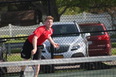 Tyler Nierman and Hills West defeated Ward Melville in a Suffolk County semifinal on Thursday.
