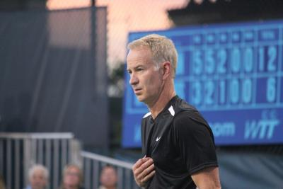 John McEnroe successfully defended his Statoil Masters Tennis Legends title with a 6-1, 6-2 victory over old rival Mats Wilander in the final