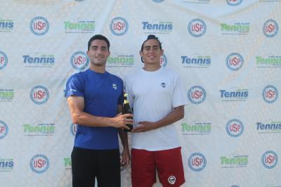 Cameron Silverman (left) and Quinton Vega (right) won the Men's Pro Division and the $750 cash prize.