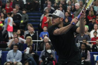 Andy Roddick helped the Justin Gimelstob Foundation raise $300,000-plus for children's charities