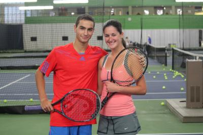Wimbledon Boys Junior Champ Noah Rubin and National College Player of the Year Jamie Loeb will join world number one Novak Djokovic on Thursday, Aug. 21 for a gala evening of tennis and fun to benefit the Johnny Mac Tennis Project