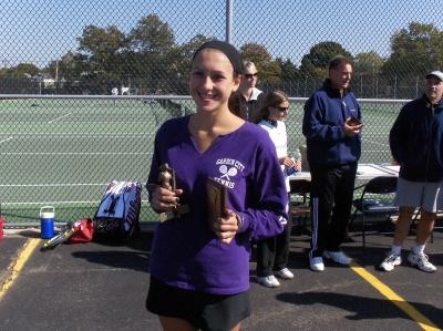 Garden City's Jacqueline Raynor, 2010 Nassau County Girls Singles Champion