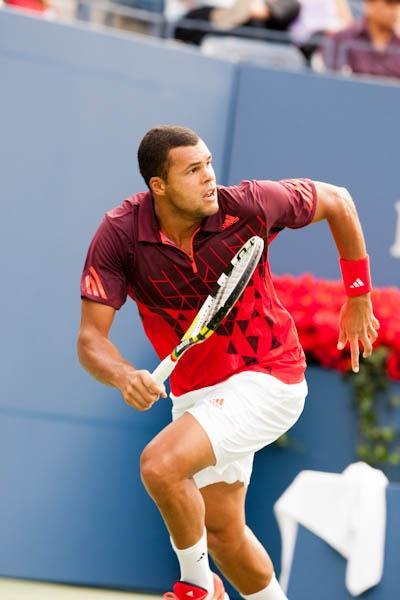 French number one Jo-Wilfried Tsonga was a winner over former world number three Nikolay Davydenko 7-6(3), 6-2 in the second round of the Monte-Carlo Rolex Masters