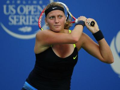 Petra Kvitova defeated Li Na on Monday night, 7-5, 2-6, 6-3, to capture the 2012 Rogers Cup in Montreal