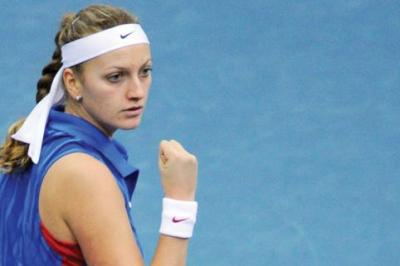 Petra Kvitova won her 10th singles title on Saturday after defeating Sara Errani 6-2, 1-6, 6-1 in the finals of the Dubai Championships