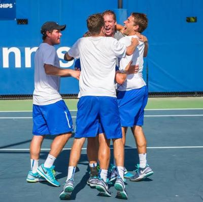 Josh Levine of Syosset, N.Y. led Duke University to the Sweet 16 of the NCAA Championships