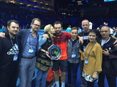 Local teaching pro Alex Pop-Moldovan recently accompanied top doubles player Florin Mergea to the Barclays ATP World Tour Finals in London