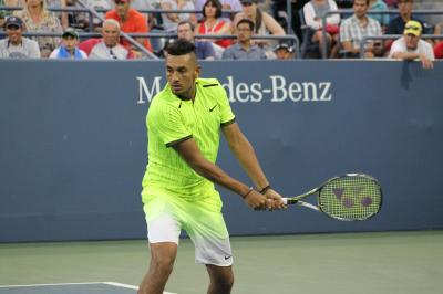 Nick Kyrgios withdrew from the BNP Paribas Open due to food poisoning.