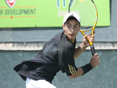 Long Island's Noah Rubin, 17, is expected to be the top-seeded boys' 18s player at the Long Island's Noah Rubin, 17, is expected to be the top-seeded boys' 18s player at the USTA International Spring Championships