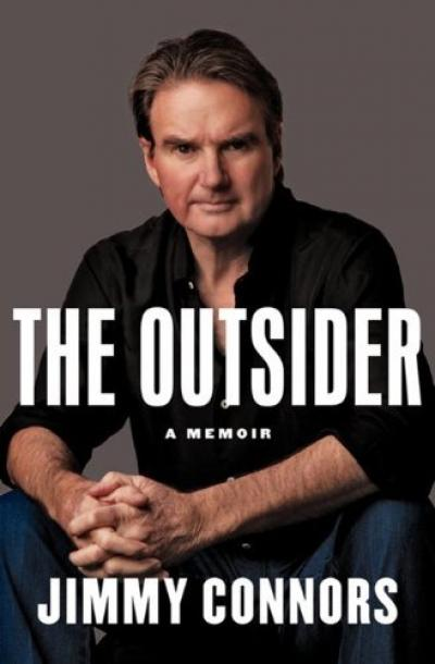 If you think the main job of a sports memoir is to tell the athlete's story in his own voice, and that's a reasonable thesis, then you have to credit Jimmy Connors' book, The Outsider with accomplishing that