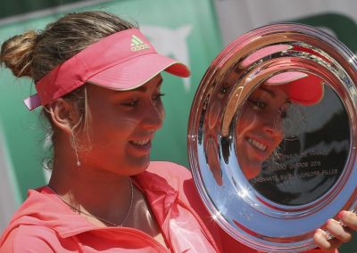 Paula Badosa Gibert won the French Open girls title earlier this summer, and is currently ranked 229th in the world