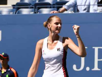 Pliskova saves match point to see off courageous Zhang