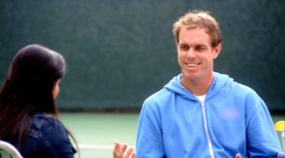 "​Sam Querrey recently starred in an episode of ""Millionaire Matchmaker."" The show on Bravo is hosted by Patti Stanger, a fix-'em up queen"