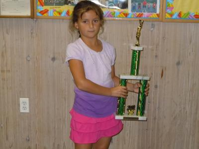 """The USTA/Eastern-Long Island Region congratulates eight-year-old Rachel Arbitman who made it to the finals in the national """"Little Mo"""" tournament in Chicago in May."""