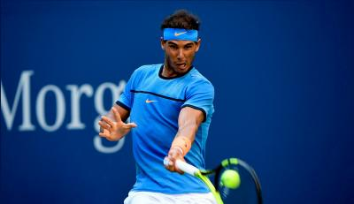 Rafael Nadal dropped just one game en route to reaching the French Open fourth round on Friday.