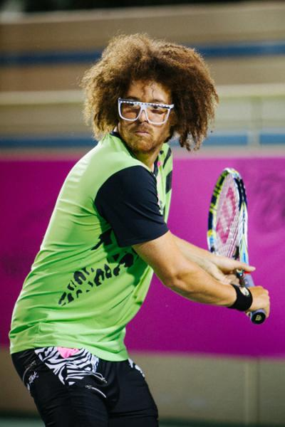 Redfoo has entered the USTA Northern California Sectional Qualifying Tournament in Salinas, Calif., June 18-23