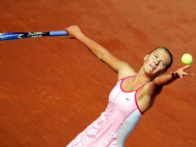 Sharapova on Maria Sharapova  The Second Ranked Woman S Player  Quickly Defeated