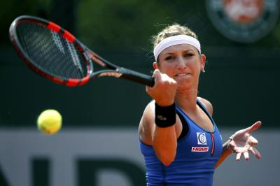 Timea Bacsinszky has moved on to the semifinals of the 2017 French Open