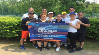 The 18 & Over 7.0 Mixed team from Point Set, captained by Lori Sarnelli, will be advancing to Nationals