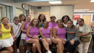The 40&Over Women 4.0 team out of SPORTIME Roslyn will be representing the Long Island Region up at the USTA Eastern Sectionals.