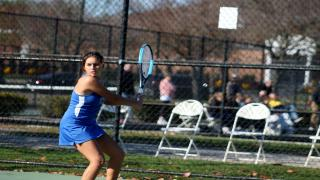 Andrea Martinez won the fourth and clinching point for Port Washington with a victory at second singles.