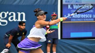 Bianca Andreescu secured the final semifinal spot at the 2019 US Open with a comeback win over Elise Mertens on Wednesday night.