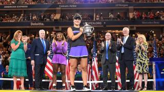 Bianca Andreescu became the first player born in the 2000s to win a Grand Slam title on Saturday as the Canadian 19-year-old hung on to defeat 23-time major champion Serena Williams 6-3, 7-5 and hoist the US Open trophy.
