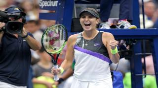 Belinda Bencic advanced to a Grand Slam semifinal for the first time in her career after beating Donna Vekic in straight sets on Wednesday.
