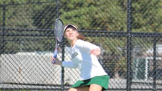 Westhampton Beach's Rose Hayes fought back from a set down to win the Suffolk County singles title as she defeated Emily Tannenbaum of Commack 3-6, 6-2, 6-2 in Wednesday's final at Shoreham-Wading River High School.
