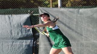 Brooke Del Prete defeated Alex Ho 6-4, 7-6(5) at second singles in a crucial victory for Westhampton Beach in Thursday's Long Island Championship.