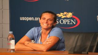 A wild card at the Internazionali BNL d'Italia in Rome, Italian Roberta Vinci called it a career Monday after her opening round loss to Aleksandra Krunic