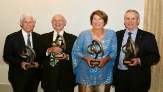 The USTA Eastern 2018 Hall of Fame Class.