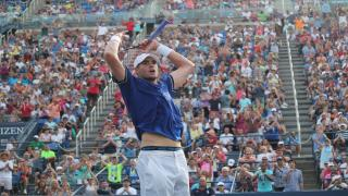 John Isner won his first career ATP Masters 1000 title in Miami this weekend.