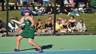 Julia Stabile won at fourth singles to clinch Westhampton Beach's second straight Suffolk County title.