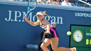American Sofia Kenin is into the first Grand Slam quarterfinal of her career after defeating fellow American Coco Gauff.