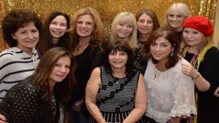 The LI Women's Interclub Tennis League Board: (Top, from left to right): Marie Franzoni, Cheryl Schefer , Suzanne Putnam, President Elona Weiner, Vice President Gigi Banks, Meg Selim and Jackie Pierangelo and (bottom, left to right): Susan Greenberg, Lynn