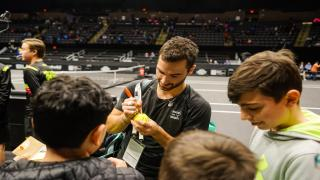 Long Island native Noah Rubin has made an impact off of the court during his time on the pro tour.