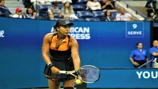 Naomi Osaka advanced to the China Open semifinals on Friday with a comeback win over Bianca Andreescu.