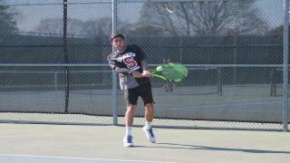 Preet Rajpal clinched Syosset's 60th straight win with a victory at third singles.
