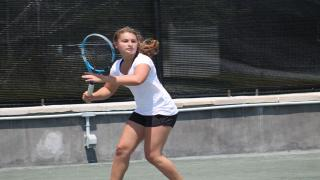 East Hampton native Ally Friedman has been a four-year member of the Ross School Tennis Academy.
