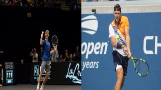 Brayden Schnur and Jack Sock will each sit on a speaker panel during the 2020 New York Tennis Expo.