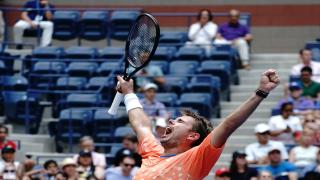 Stan Wawrinka got a stiff test from French qualifier and ATP Next Gen player Ugo Humbert in the second round of the U.S. Open on Wednesday, but pulled through 7-6(5), 4-6, 6-3, 7-5 to advance to round three