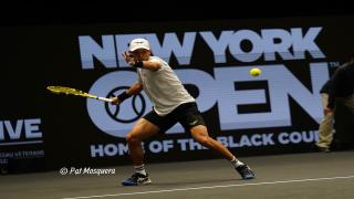 Jason Jung ousted former champion Kevin Anderson on Tuesday night.