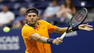 Juan Martin del Potro, the 2009 champion, is back in action at the U.S. Open on Sunday as he takes on Borna Coric for the first time.